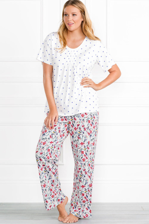 Plus Size - Sara Pyjama Set
