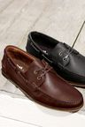 Next Smart Leather Boat Shoe