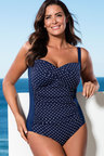 Plus Size - Quayside Woman Twist Front Swimsuit