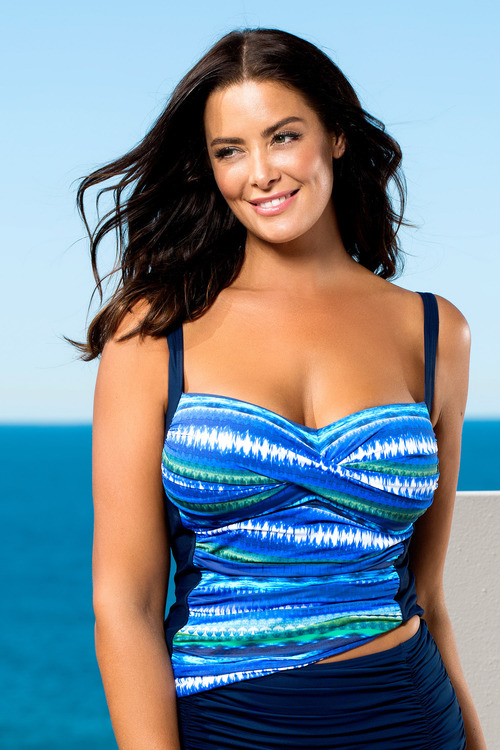 Plus Size - Quayside Woman Tankini Twist