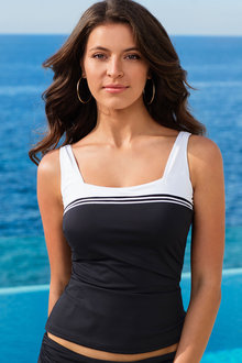 Quayside Square Tankini Top