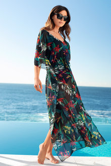 Capture Swim Maxi Dress Kaftan - 142240