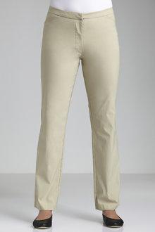 Plus Size - Sara Long Zip Pants