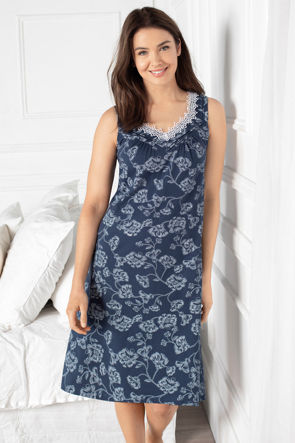 a3cb54c468 Mia Lucce Cotton Jersey Nightie Online