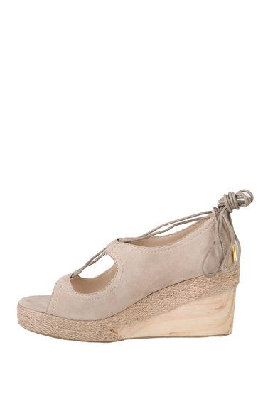 Wooden Heel Wedge
