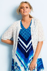 Plus Size - Sara Pointelle Cardigan
