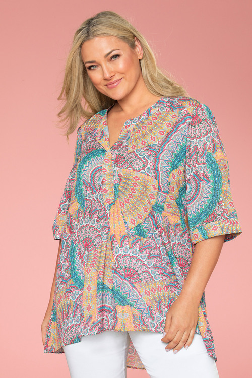 Plus Size - Sara Summer Shirt