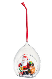 Personalised Christmas Bubble Ornament