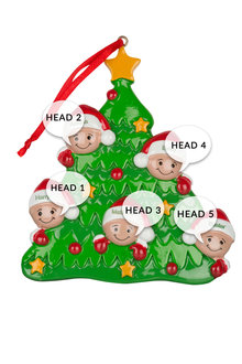 Personalised Family Tree Ornament