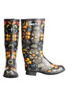 Trelise Cooper For Breast Cancer Printed Gumboots