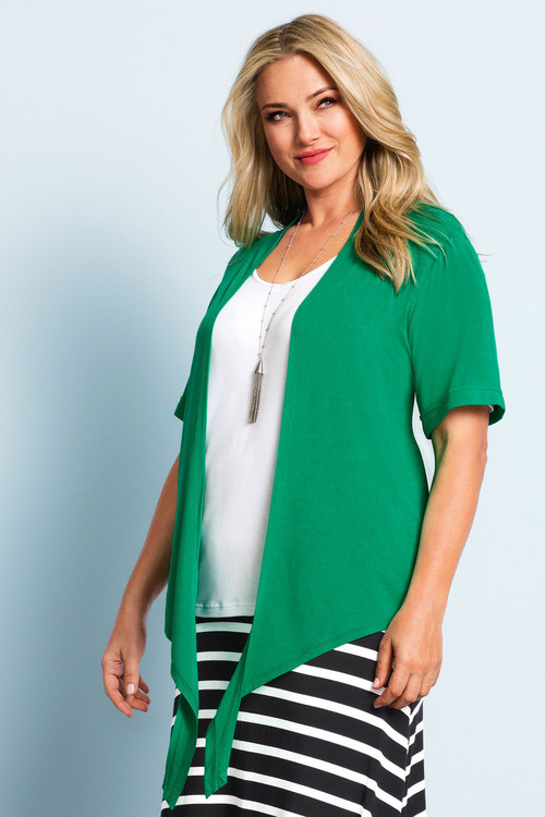 Plus Size - Sara Cover Up Cardi