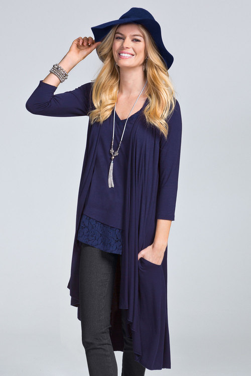 Together Sleeveless Cardi