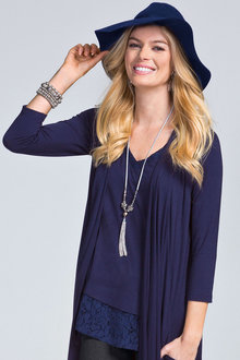 Together Lace Hem Tunic