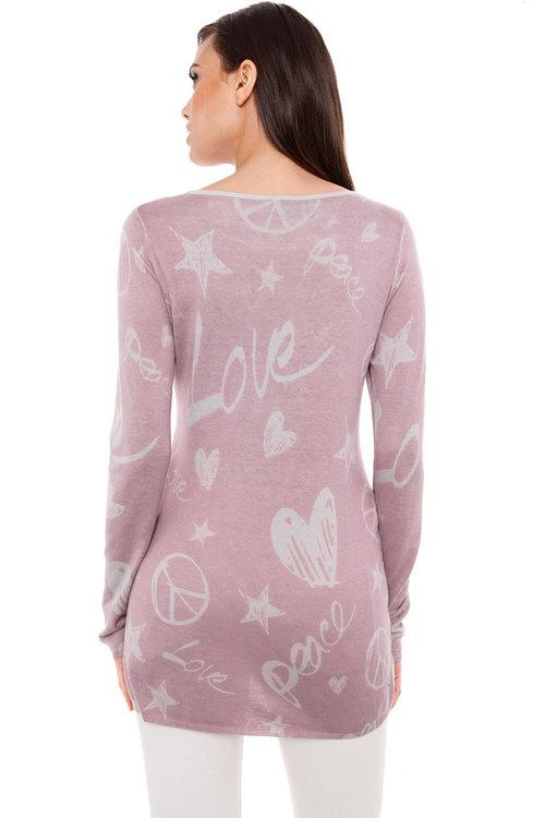 Heine Printed Pullover