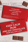 Personalised Chocolate Tablet - Keep Calm