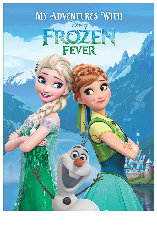 Personalised Adventure Book Disney Frozen Fever