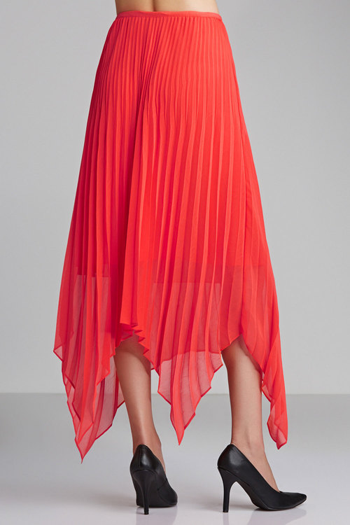 Grace Hill Pleat Skirt