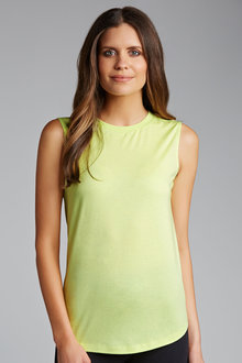 Emerge Scoop Hem Tank