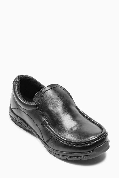 Next Black Sporty Loafers (Older Boys)