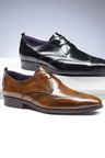 Next Italia High Shine Brogue