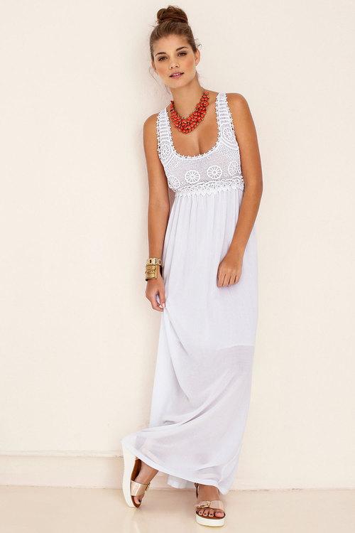 1378dfab252 Urban Lace Trim Maxi Dress Online