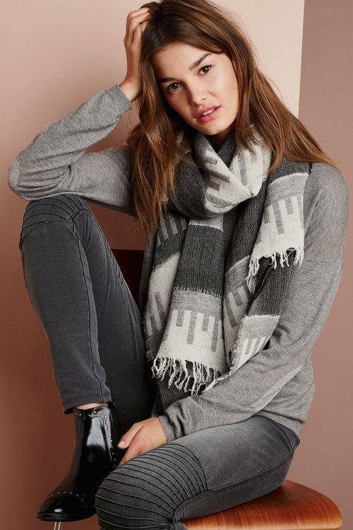 Next Metallic Trim Sweater