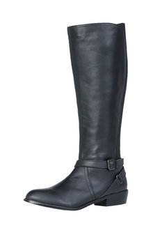 Sara Wide Fit Leather Riding Boot