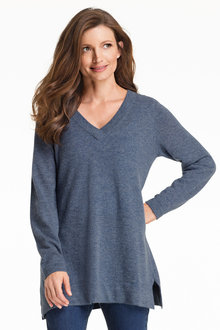 Capture Lambswool V Neck Tunic