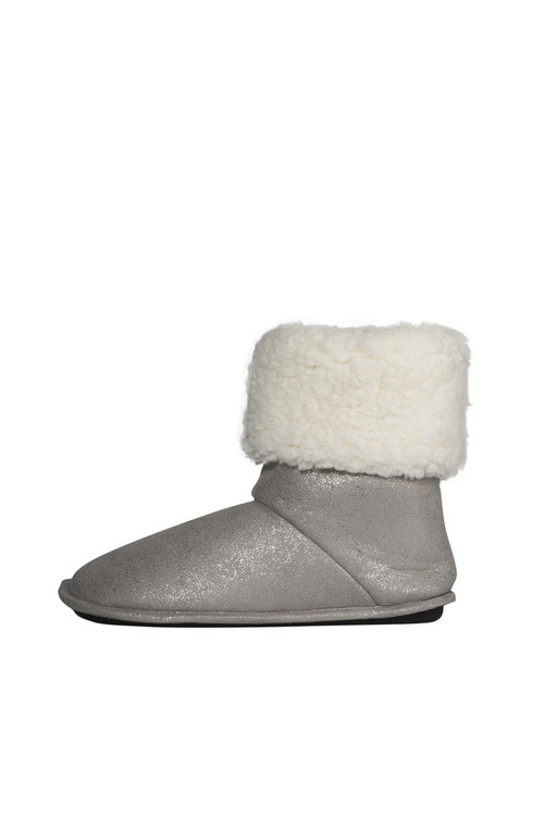 Bella Sparkly Fur Lined Boot