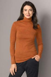 Capture Merino Roll Neck Jumper