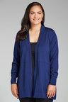 Plus Size - Sara Merino Longline Cardigan