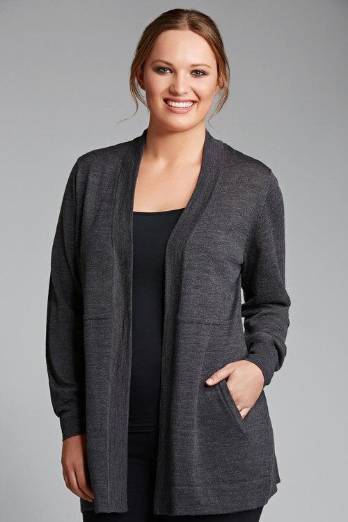 Sara Merino Longline Cardigan