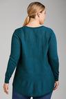 Plus Size - Sara The Merino Swing Knit