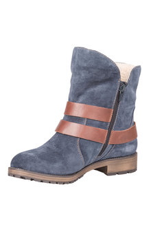 Naturalizer Talley Fur Lined Ankle Boot