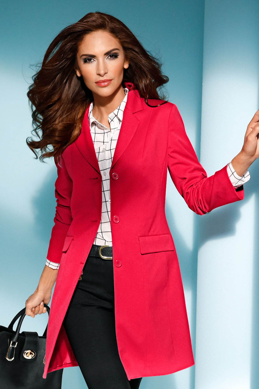 New ezibuy blazer heine long womens clothing womens coats jackets