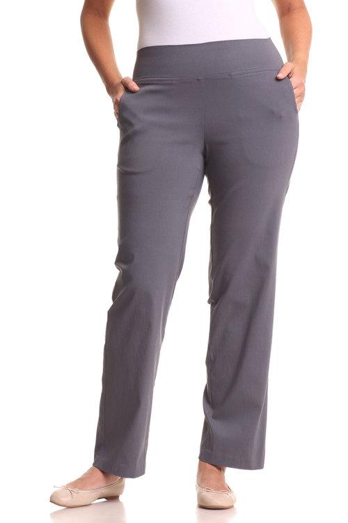 Plus Size - Sara Bengaline Pull On Pant