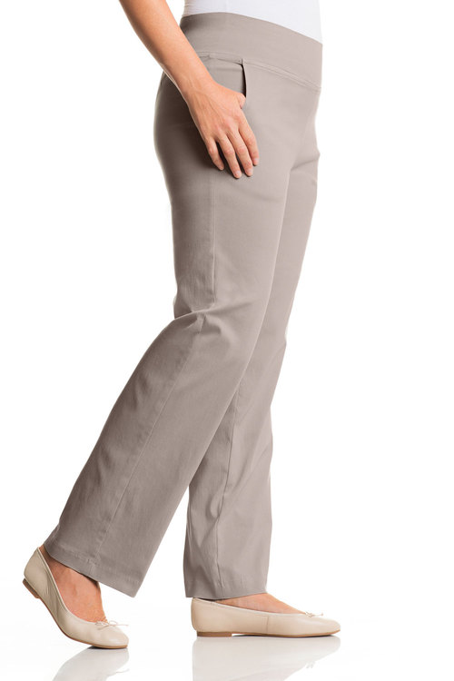 Plus Size - Sara Bengaline Pull On Pant
