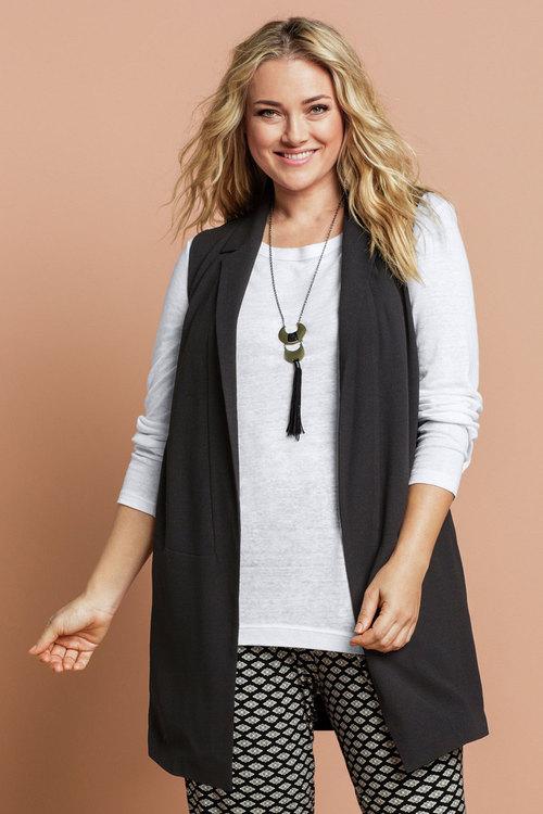 Sara Sleeveless Jacket
