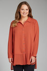 Plus Size - Sara The Long Blouse