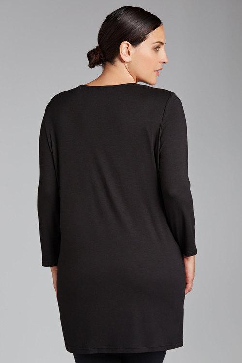 Plus Size - Sara Printed Tunic