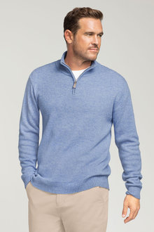 Southcape Lambswool 1/2 Zip Sweater
