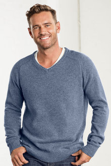 Southcape Lambswool V Neck Sweater