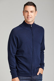 Southcape Lambswool Full Zip Sweater - 149927