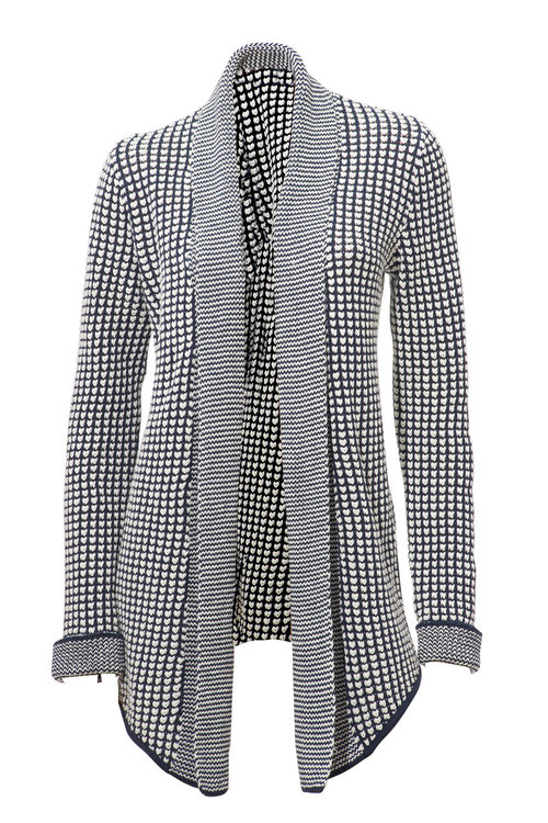 Heine Textured Cardi Coat