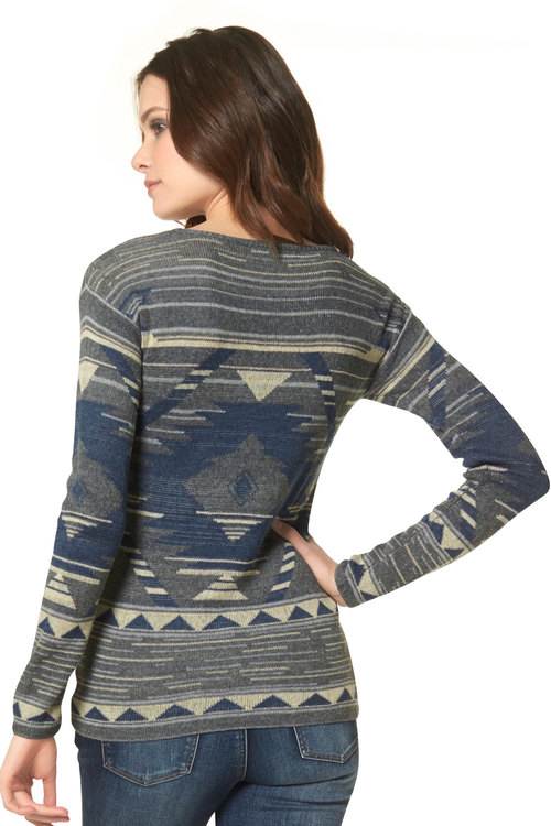 Urban Patterned Pullover