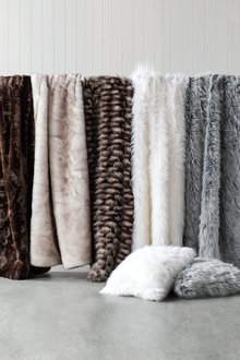 Zambezi Faux Fur Throw