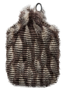 Zambezi Faux Fur Hot Water Bottle Cover