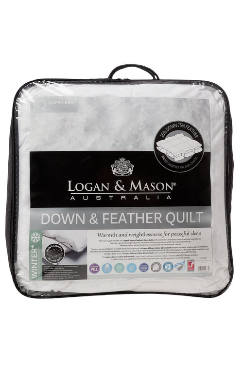 Logan & Mason Down and Feather Duvet Inner
