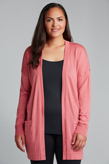 Plus Size - Sara Merino Pocket Cardi