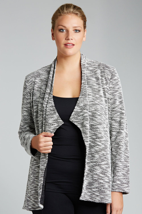 Sara Boucle Knit Jacket